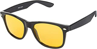 Heron Will summer collection wayfarer sunglasses best gift for brother (Night Vision Yellow, Black & Brown for Day outing, Night Vision Transparent)