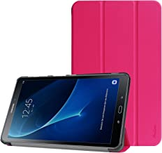 Procase Galaxy Tab A 10.1 Case 2016, Slim Smart Cover Stand Folio Case for Galaxy Tab A 10.1 Inch (2016 NO S Pen Version SM-T580 T585 T587) Tablet (Magenta)