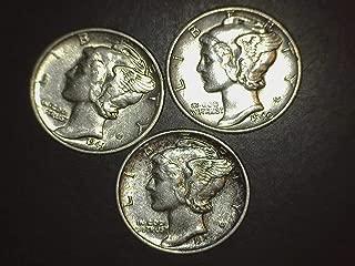 1942 mercury dime proof