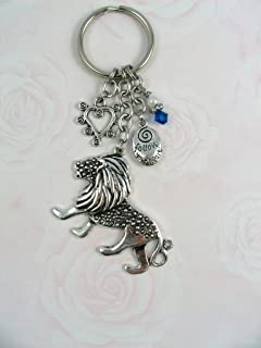 Lion Hearted Keychain Alpha Delta Pi OFFICIALLY LICENSED PRODUCT