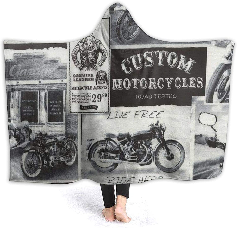 LIAM HENDERSON Vintage Motorcycle Era Ultra Newspaper News Soft Austin Mall High order