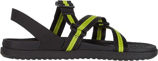 Jiffy Black/Chartreuse Green/Jiffy Black 2