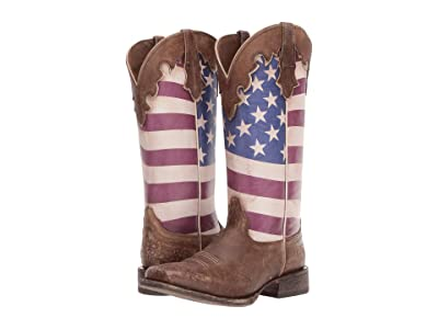 Ariat Ranchero (Stars and Stripes) Cowboy Boots