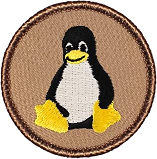 Choose Size - MADE to ORDER Penguins set of four fabric Iron on Applique Patch 9296