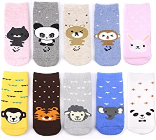 LUXEHOME (YR1605) Cozy Thick Cotton Animal Baby Toddler Socks