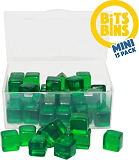 Board Game Pieces Storage Containers, Organizes Meeples, Dice, Tokens, Cards to Fit Inside The Board Game Box, Includes 15 BitsBins Mini's That Measure 2.125