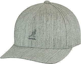 Kangol قبعة بيسبول Flexfit من الصوف للرجال، الفانيل، (كبير/XL)