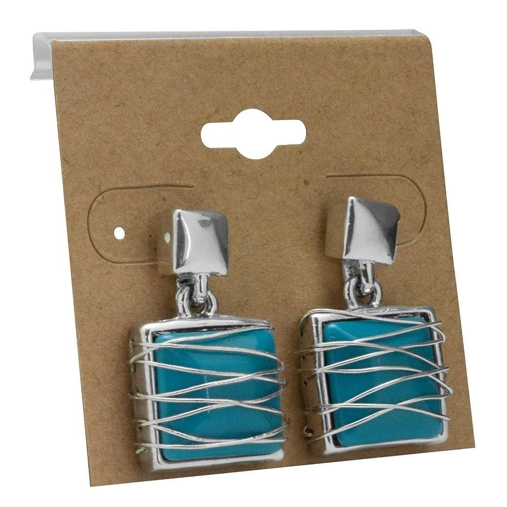 Kraft Jewelry Earring Display Cards 2