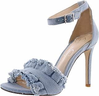 Silea Women's Open-Toe Dress Pumps Shoes Ankle Strap