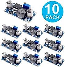 Zixtec 10 Pack LM2596 DC to DC Buck Converter Voltage Regulator, 3.0-40V to 1.5-35V, Power Supply Step Down Module