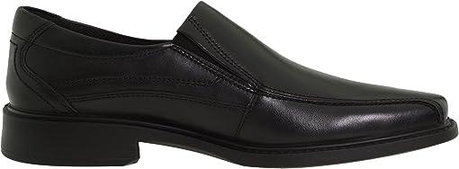 Black Santiago Full-Grain Leather