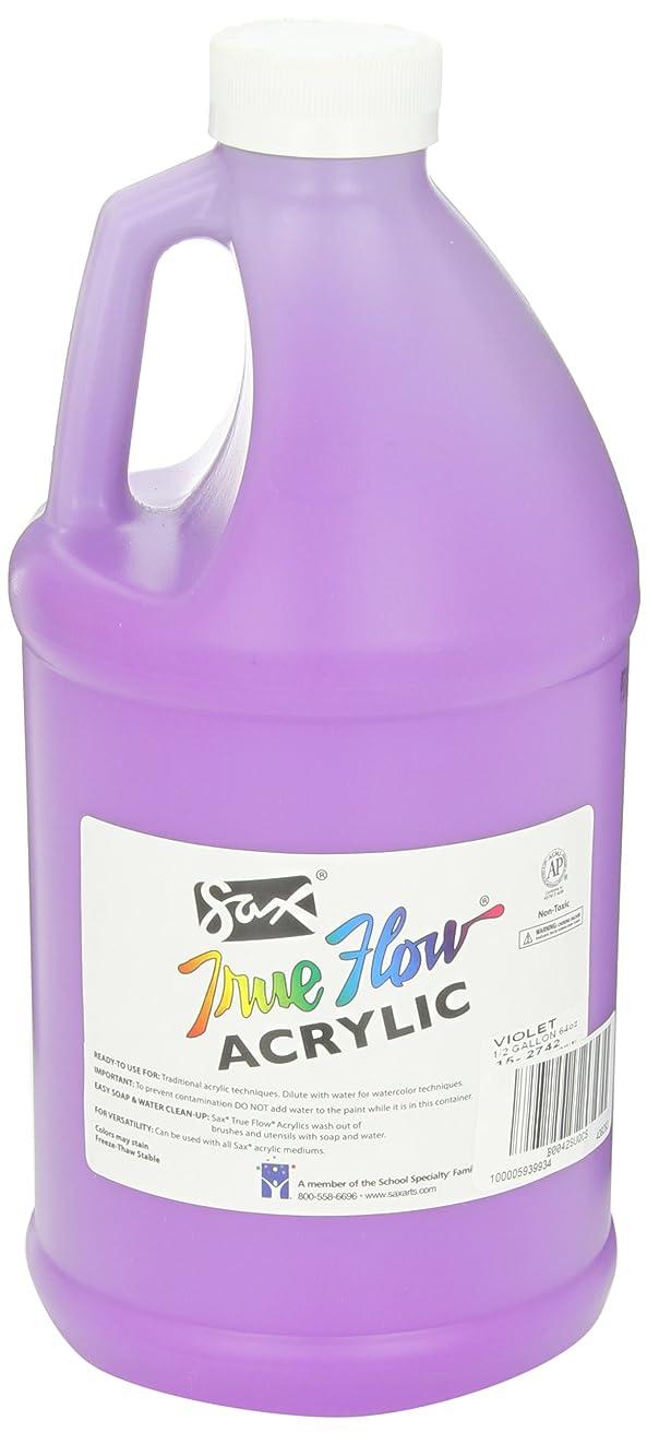 Sax True Flow Heavy Body Acrylic Paint, 1/2 Gallon, Violet - 439292