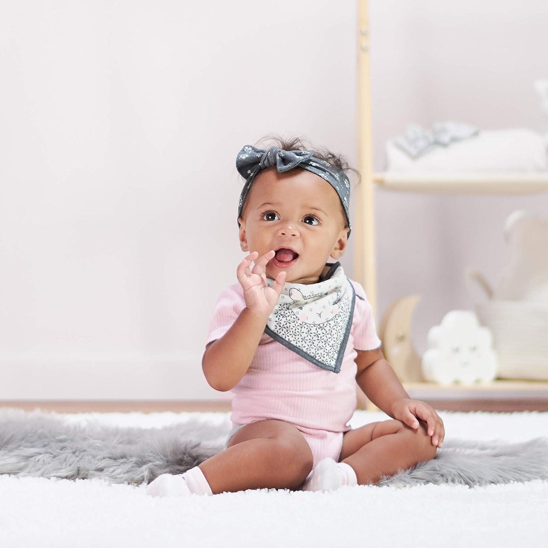 Just Born Baby Girls' 3-Pack Organic Lil'