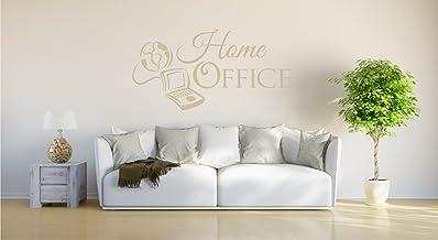 "Muursticker ""Home Office"""