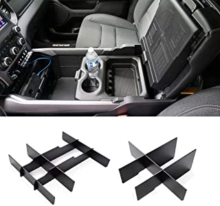 Jaronx Lower Center Console Organizer for 2019-2020 Dodge RAM 1500 and 2019-2020 RAM 2500/3500,Front Lower Center Divider+...