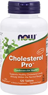 NOW Supplements, Cholesterol Pro with Bergamonte and Plant Sterols, 120 Tablets