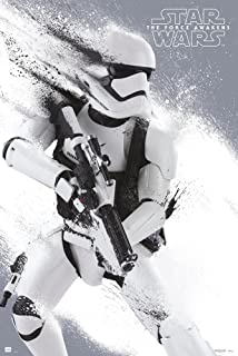 Star Wars: Episode VII - The Force Awakens - Movie Poster/Print (Stormtrooper) (Size: 24 inches x 36 inches)