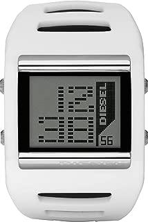 Diesel White Silicone Gray dial Watch for Men DZ7224