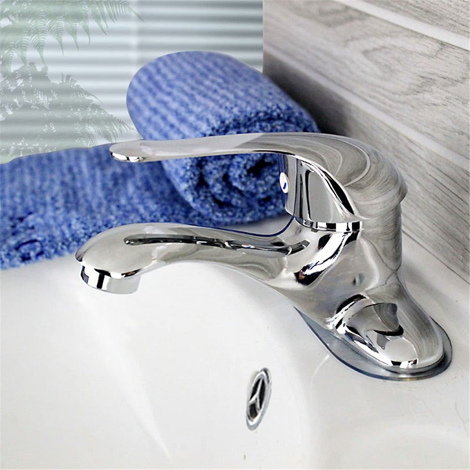 Hlluya Professional Sink Mixer Tap Kitchen Faucet The copper bathroom sink basins pool basin three hole-hole cold-hot water tap two holes