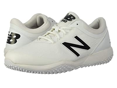 New Balance 4040v5 Turf (All White/White) Men