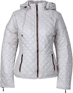 ELFJOY Women's Velvet Lined Slim Fit Hooded Jacket