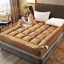 Japanese Futon Mattress Thick,Foldable Kids Floor Mattress,Quilting Tatami Mattress Topper,Japanese Floor Bed Roll,Portabl...