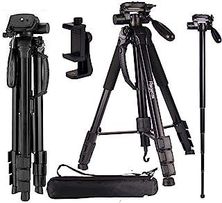 "Regetek Camera Tripod Travel Monopod (70"" Aluminum Professional Video Camera Mount Leg) Adjustable Stand with Flexible Hea..."