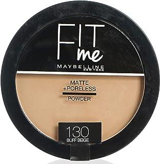 Maybelline Fit Me Face Powder For Women - Buff Beige 130, 14 Gm