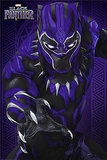 Close Up Póster Marvel Black Panther - Glow (61cm x 91,5cm)