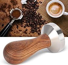 Adulteração de Espresso em Aço inoxidável, Ferramenta de Prensa para Café, Adubadeira de 51mm Portátil Não Ferrugem para U...