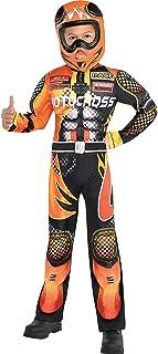 Boys Motocross Driver Costume, Small (4-6)- 2 pcs.