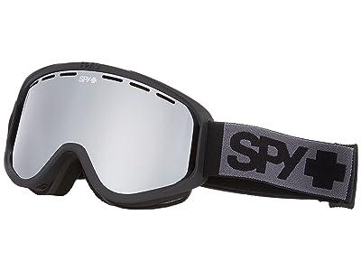 Spy Optic Woot (Matte Black/Silver Mirror) Goggles