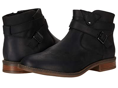 Clarks Camzin Dime (Black Leather) Women