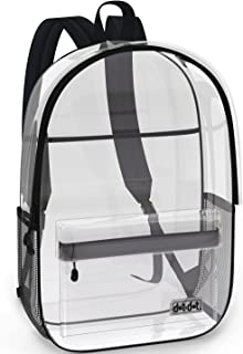 dot and dot clear backpack