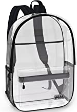 Super Heavy Duty Clear Bag for School, Travel, Sports or any Outdoor Activity