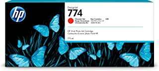 HP (Hewlett Packard) Original P2W02A HP 774 775-ml Ink Cartridge, Chromatic Red