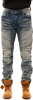 Moto Jeans with Articulated Knees