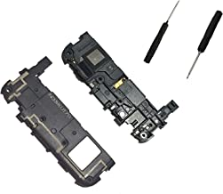 Alovexiong Black Loudspeaker Loud Speaker Buzzer Ringer Antenna Board Bezel with Screwdriver Tool Repair for LG Google Nexus 5X H790