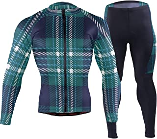 Galaxy Outer Space Catmens Cycling Jersey Suit Full Sleeve Mountain Riding Shirts Pants Clothing Outfit