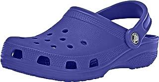 Crocs Classic Clog Comfortable Slip On Casual Water Shoe, Cerulean Blue, 9 M US Women / 7 M US Men