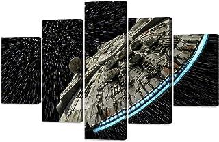 STAR WARS Framed Canvas Box Wall Art ~ 3 Panels ~