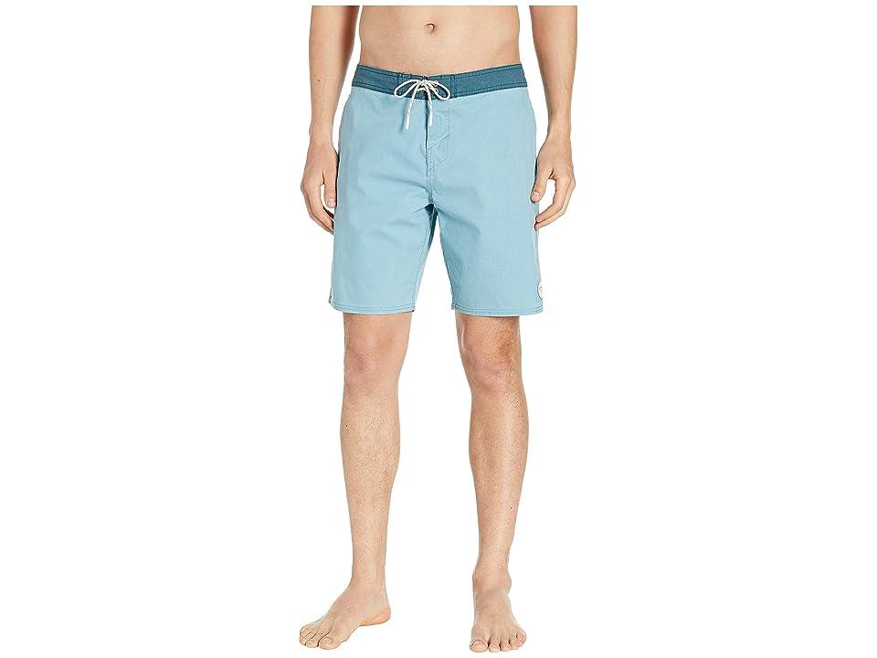 O'Neill Faded Cruzer Boardshorts (Dusty Aqua) Men's Swimwear, Blue
