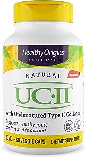 Sponsored Ad - Healthy Origins UC-II (Undenatured Type II Collagen) 40 mg, 60 Veggie Caps