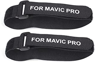 DJI Mavic Pro Fastener, iKNOWTECH 2 PCS Propeller Motor Holder Strap Prop Blade Stabilizer Protector for Drone DJI Mavic Pro Accessories Transport Protection (Black)