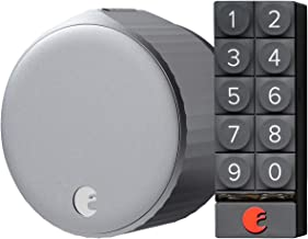 August Wi-Fi Smart Lock (Newest Model 4th Gen) with Smart Keypad - Alexa, Google Assistant, Home Kit, SmartThings and Airb...