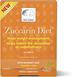 New Nordic Mulberry Zuccarin, 60 Tablets