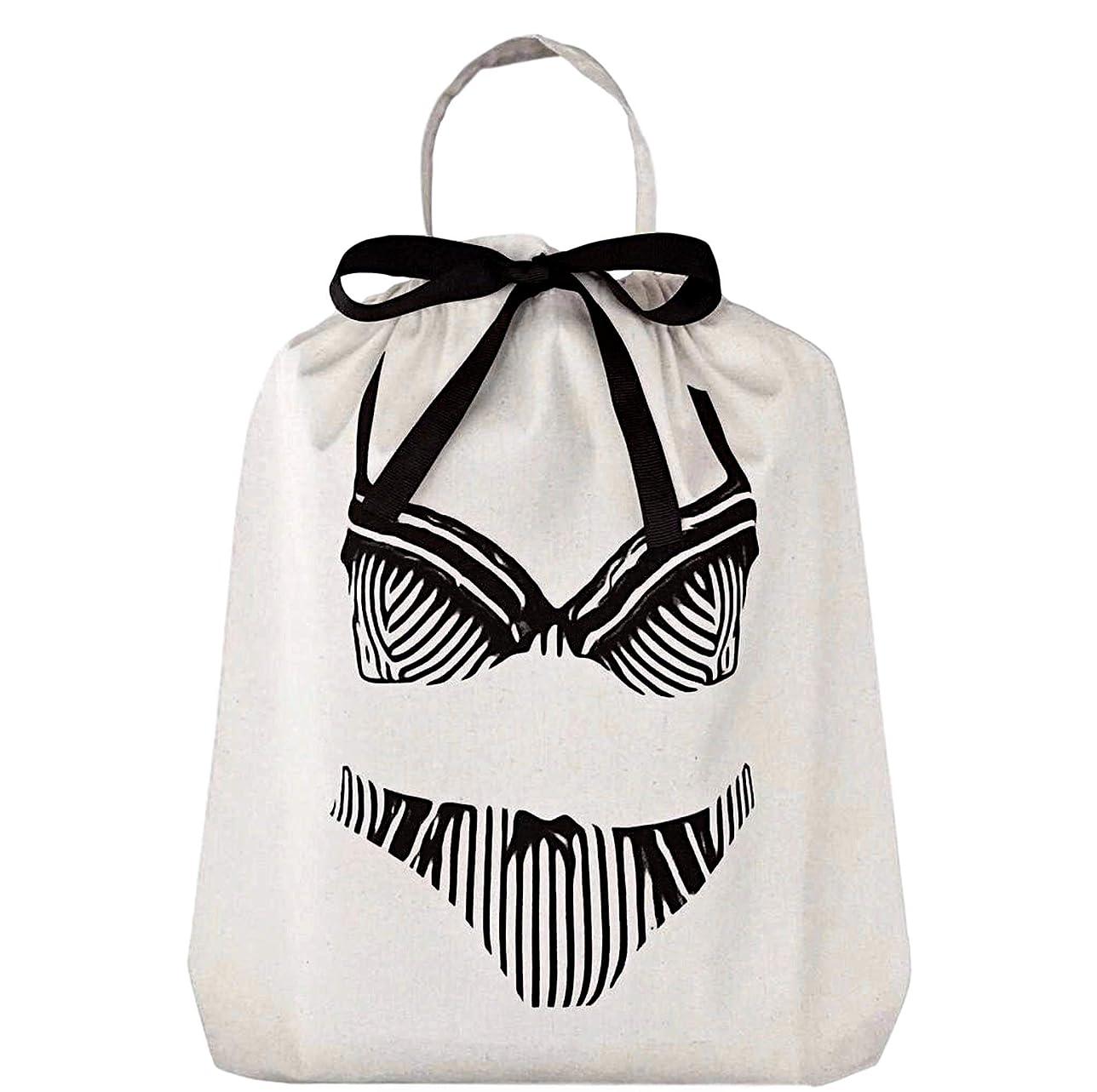 センサー皮肉マイルストーンBag-all (バックオール)ニューヨーク発 コットンClassic Lingerie Bag