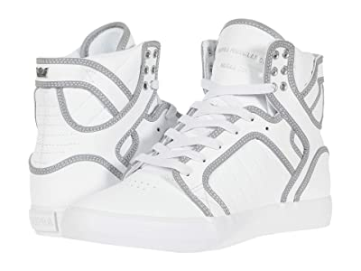 Supra Skytop (White/Reflect/White) Men
