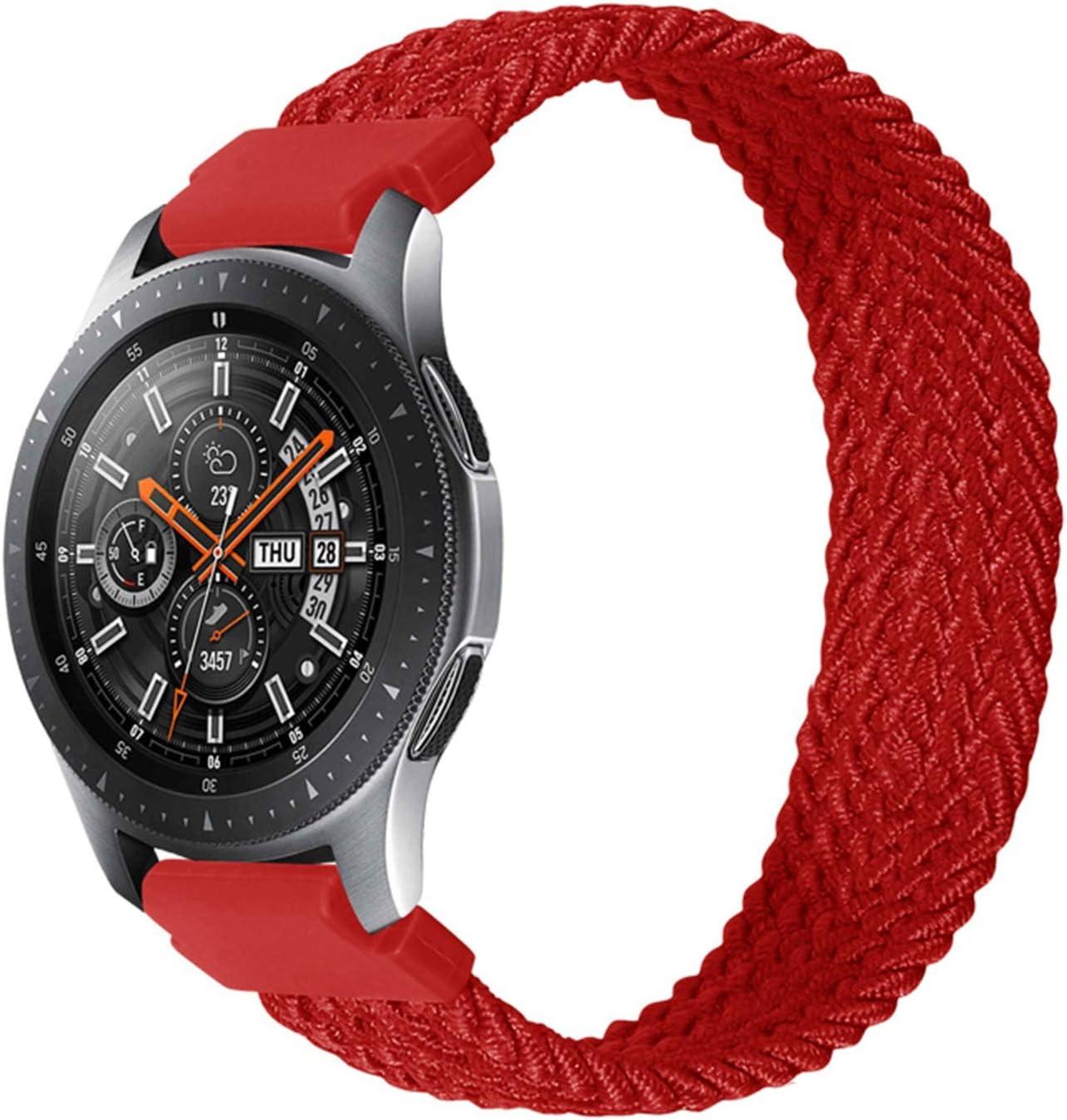 LJSKAFF 22mm 20mm Solo Loop Watch Galaxy Band Max 54% OFF Strap for Samsung Over item handling ☆