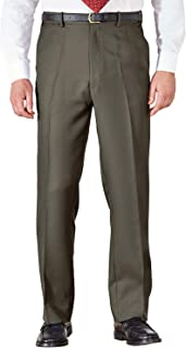 Mens Quality Formal Smart Casual Work Trouser Pants Home/Office